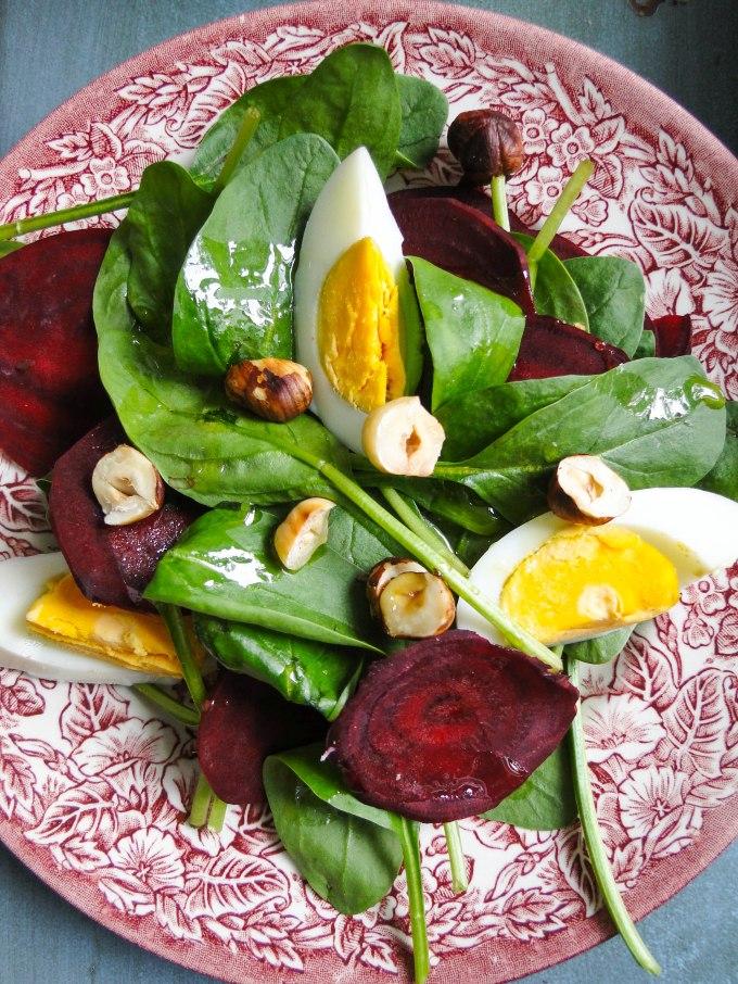 brioche & salad 2-3