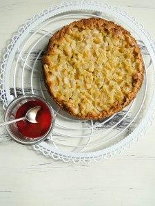 rhubarb tarte 1-2