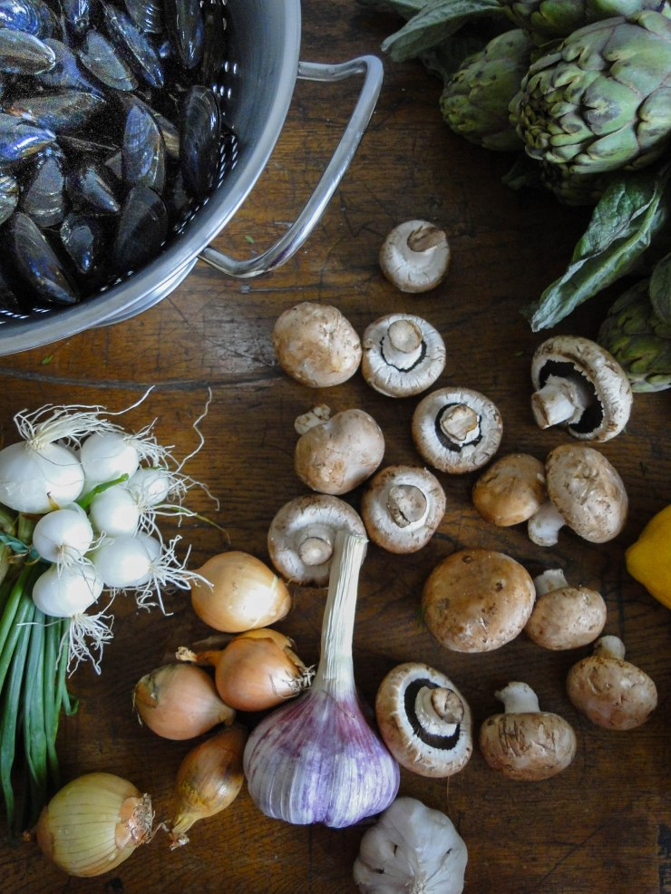 moules ingredients-