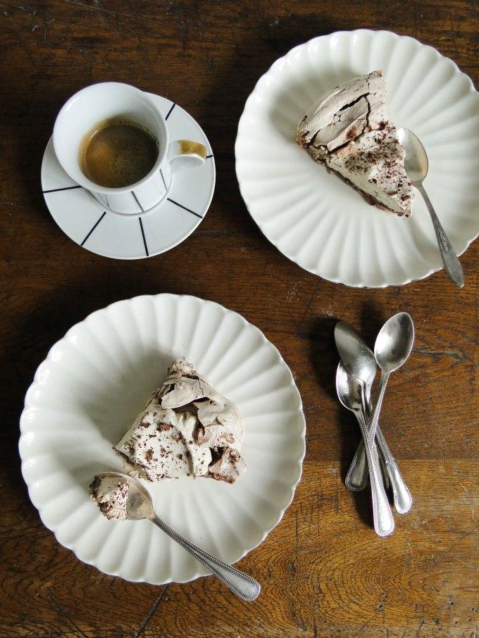 merveilleux chocolat & chestnut mascarpone cream