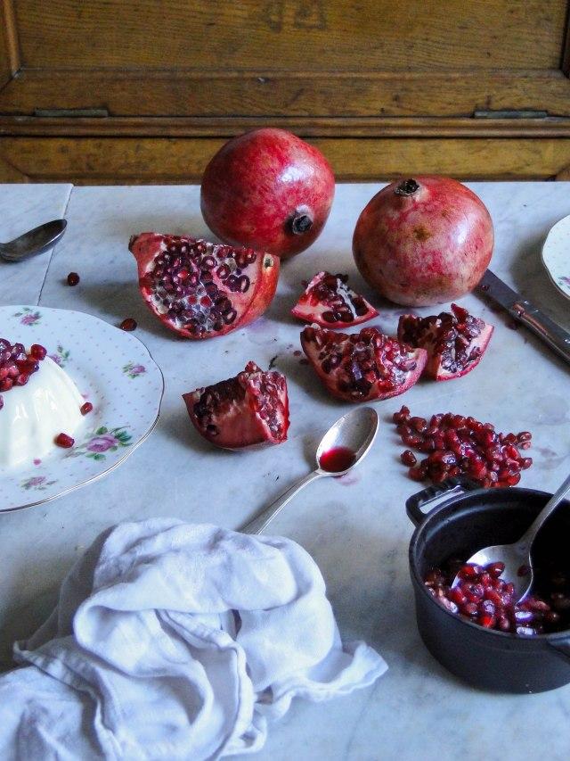 panna cotta pomegranate-16