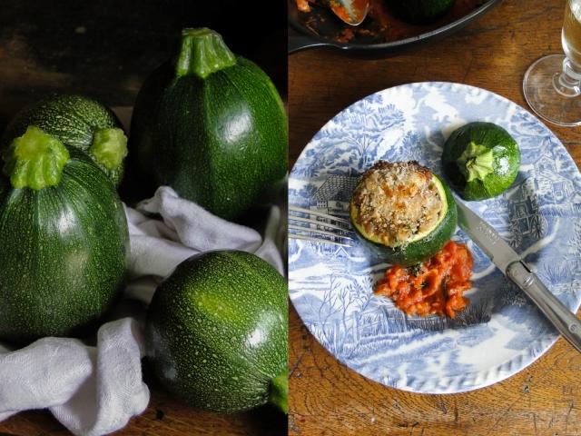zucchini&courgettes farcies8
