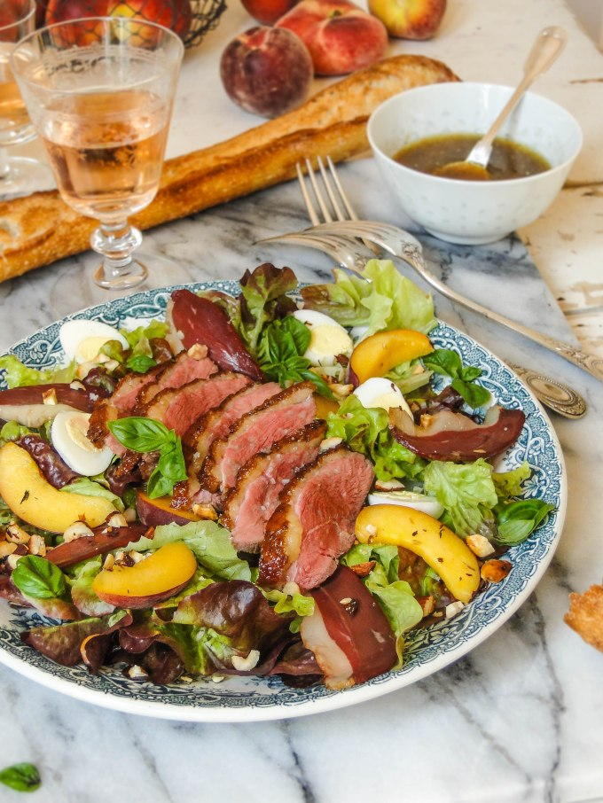 duck & peach salad-9